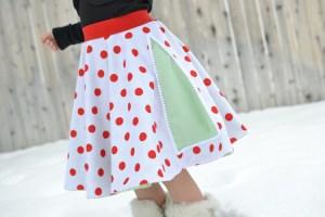 12 Skirts of Christmas {tutorial}