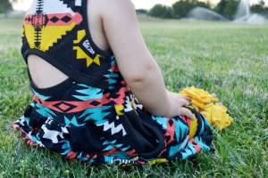 Tribal Soleil Dress