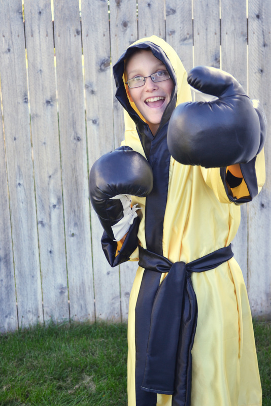 Rocky Balboa Costume // lemon squeezy home