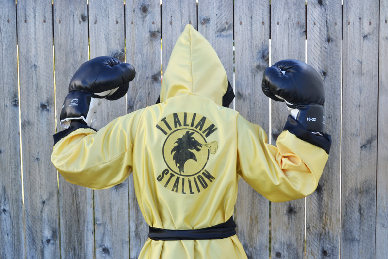 Rocky Balboa Costume // lemon squeezy home & Rocky Balboa Costume