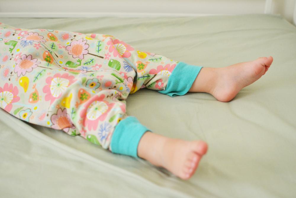 Footed Sleep Sack // lemon squeezy home