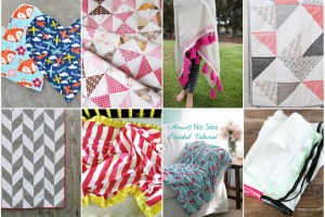 Quilt & Blanket Tutorial Roundup