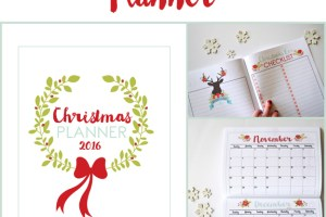 Christmas Planner for 2016