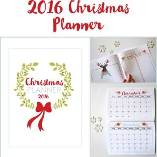 Free Christmas Planner Printable // lemon squeezy home