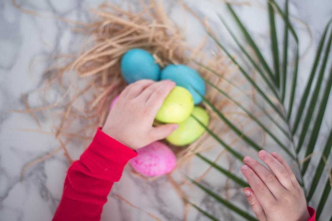 Easter basket DIY