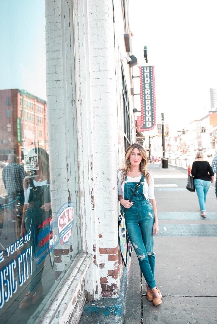 Broadway street Nashville photo shoot