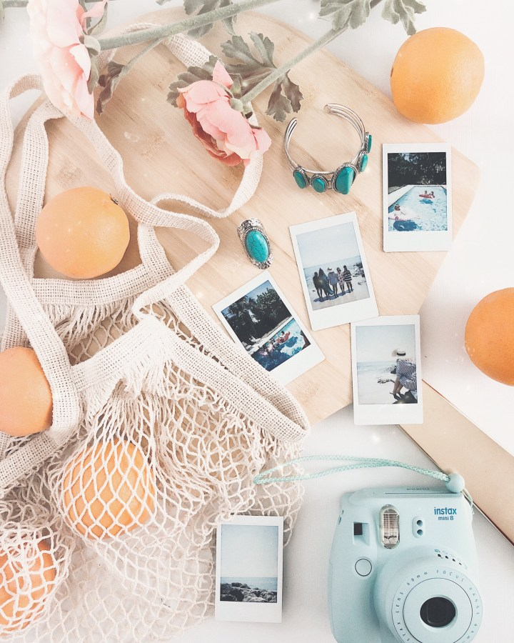 easy flatlay ideas for bloggers and influencers
