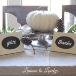 Thanksgiving 2015 Tablescape