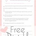 Free Printable-Prayers For Your Little Girl/Boy