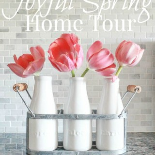 Joyful Spring Home Tour sponsored by hayneedle.com