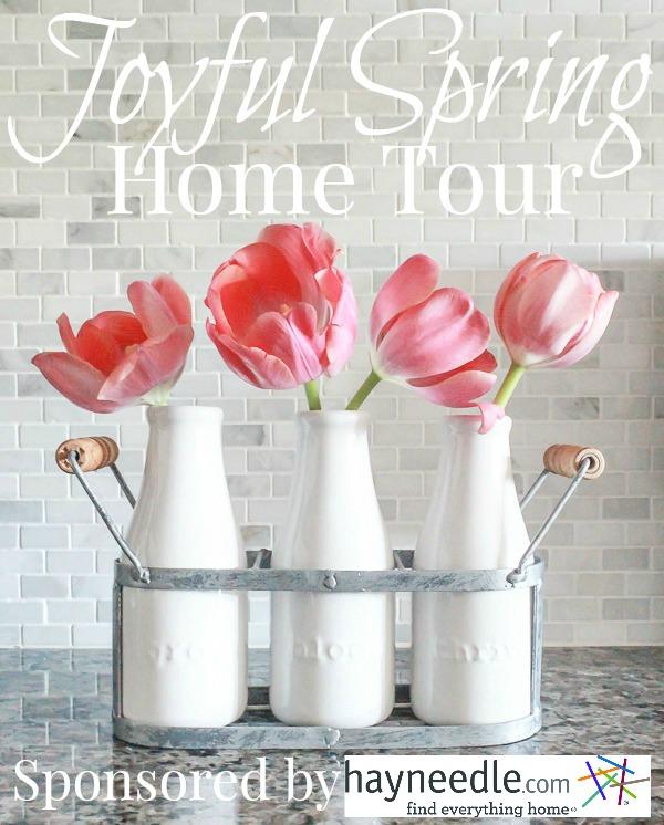 Joyful Spring Home Tour sponsored by hayneedle.com