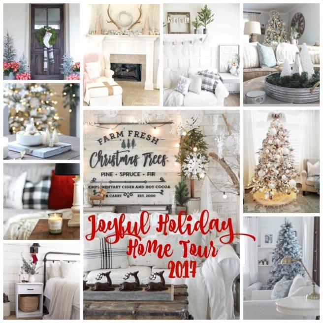 Joyful Holiday Home Tour 2017