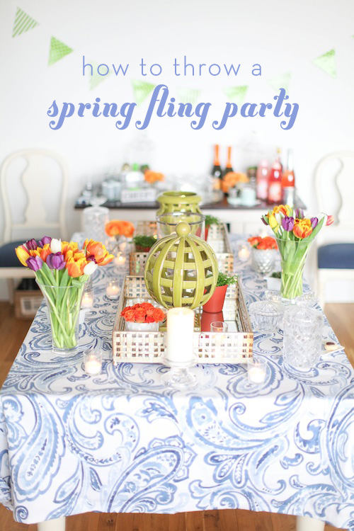 How to Throw a Spring Fling