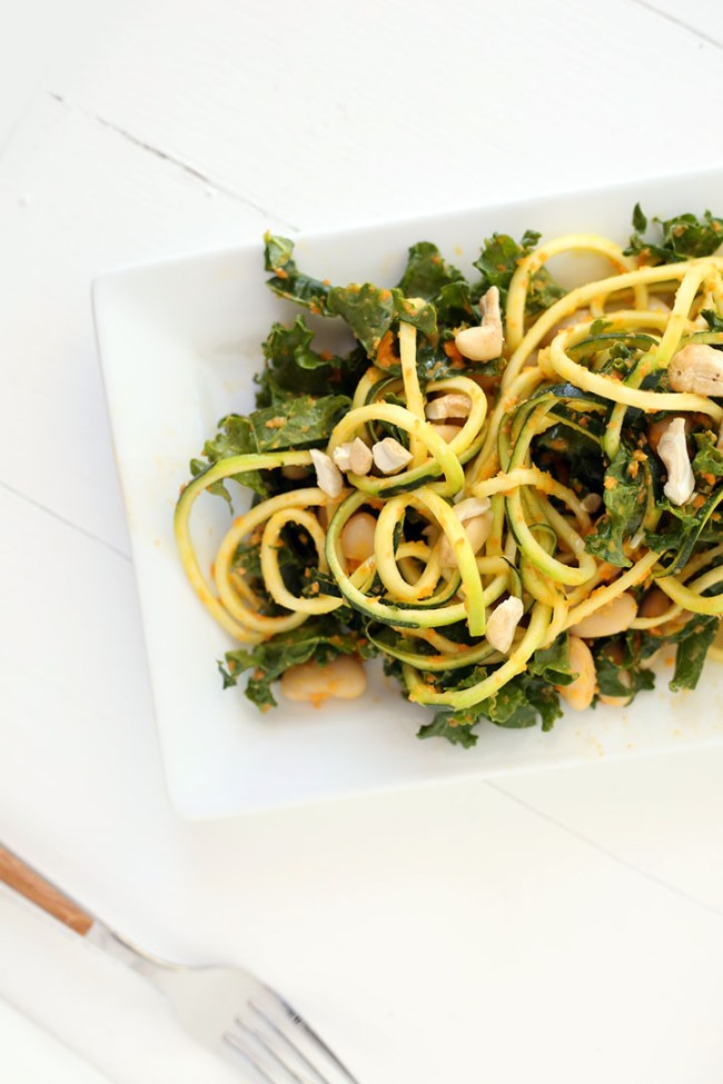 Spiralized Salad