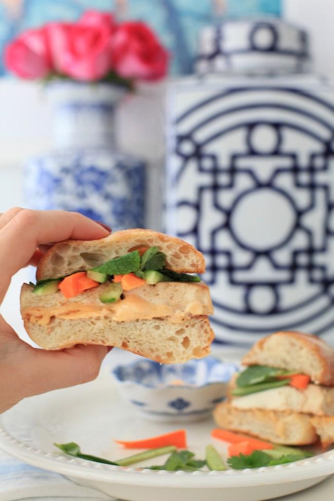 The Best Tofu Bahn Mi