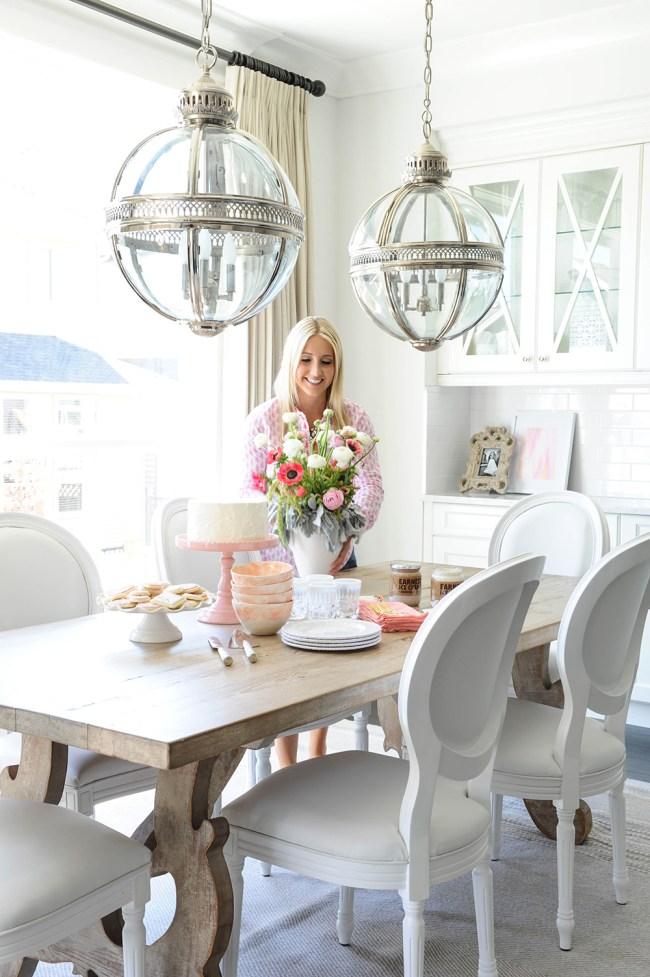 White Dining Room Inspiration
