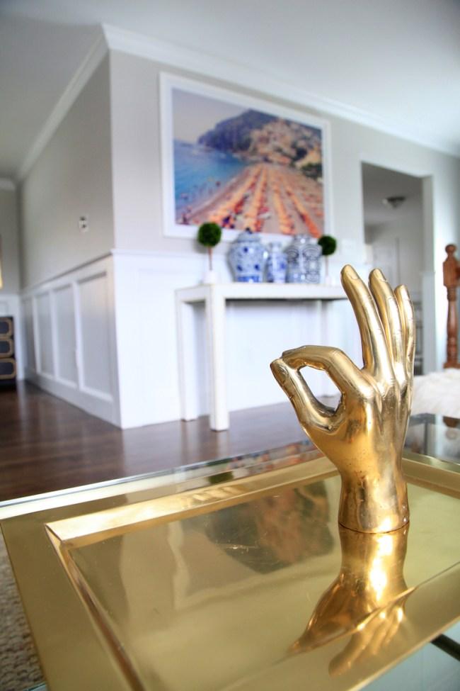 Brass Hand