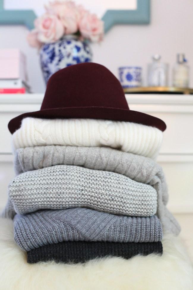 sweater-pile
