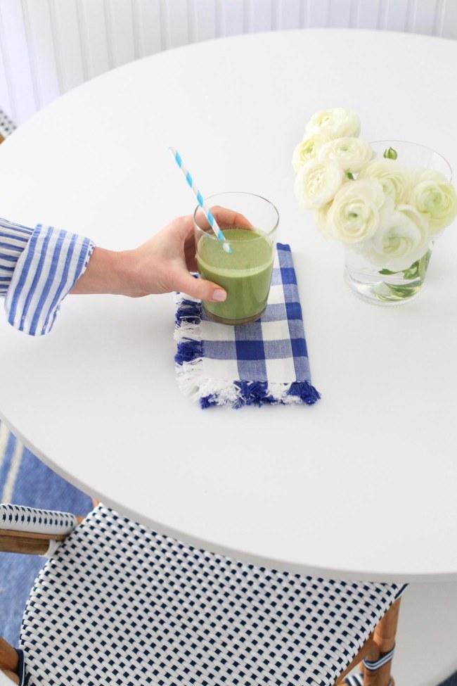 Lemon Stripes Green Smoothie Recipe
