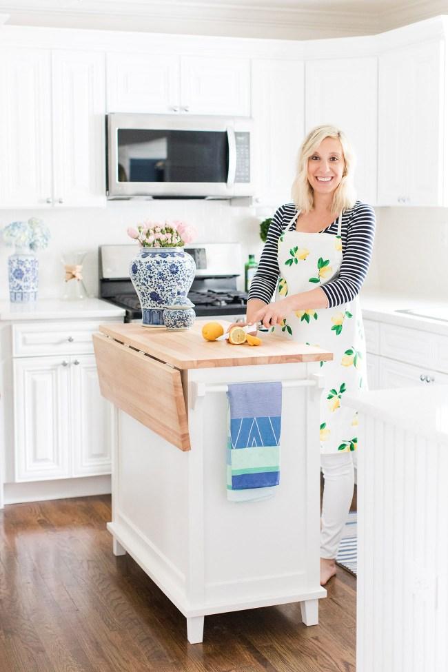 Julia Dzafic Lemon Stripes Kitchen Reveal