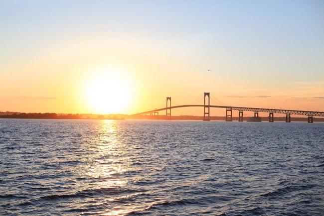 Sunset in Newport RI