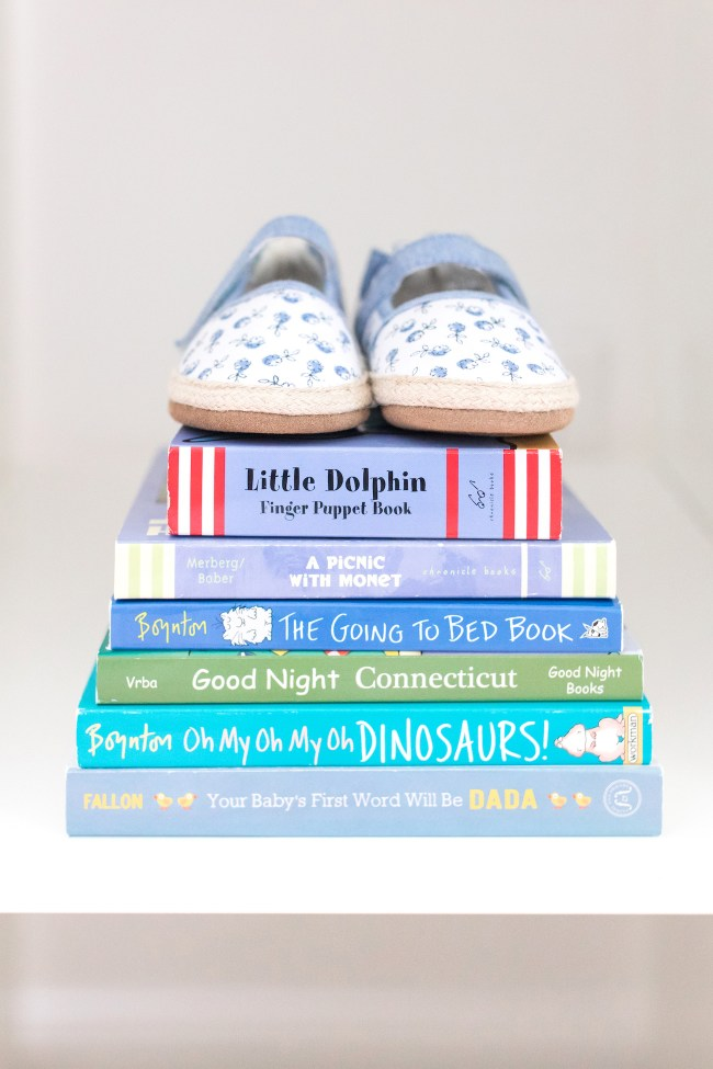 Baby Girl Shoes and Books