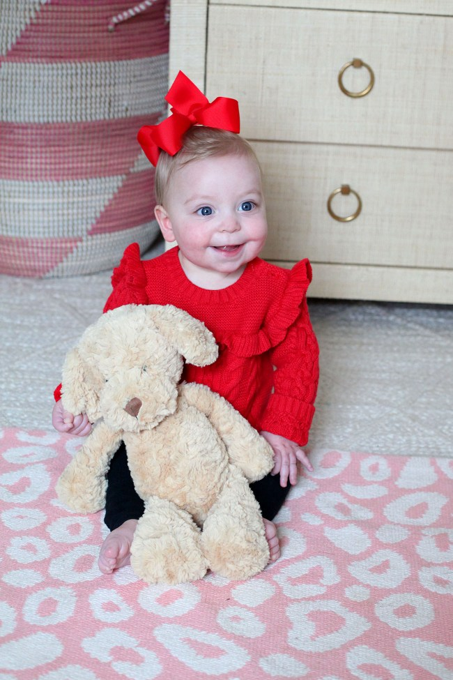 Baby Red Bow