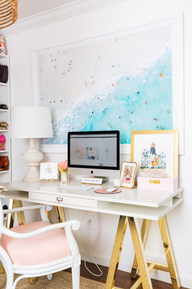 Julia Dzafic Desk in Home Office
