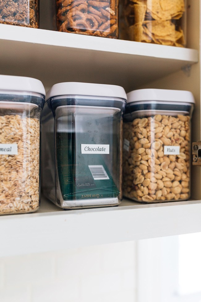 Containers for an Organized Pantry