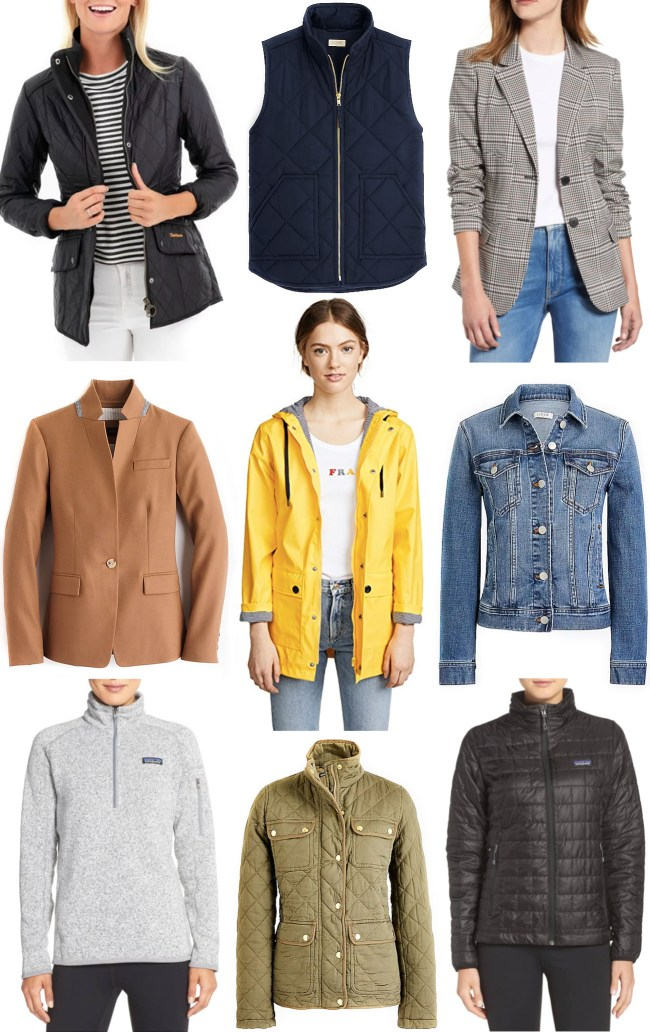 Classic Fall Coats