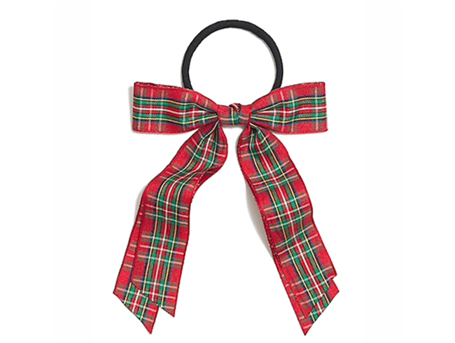 Plaid Hair Bow