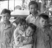 Boys in the Street, Vietnam 1967, ©William Brisick