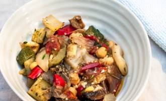 Fennel Chickpea Ratatouille Recipe