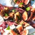 Fresh Mozzarella, Figs and Prosciutto Salad recipe