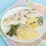 Rainbow trout with lemon and dill recipe