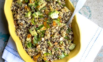 Quinoa Salad with Avocado and Dried Fruit Recipe