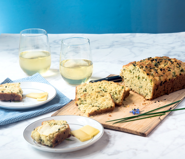 Cheese and Chive Herb Bread recipe