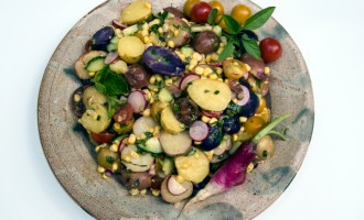 Anything Goes Lemon Potato Salad Recipe