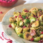 Brussels Sprouts with Pomegranate Glaze, recipe