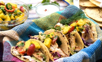 Easy Dinner Recipes: Seared Fish Tacos