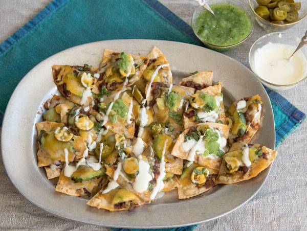 Loaded Nachos, recipe.