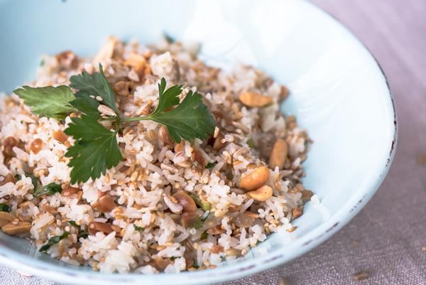 Quick and Crunchy Jasmine Rice, recipe.