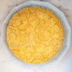 Saffron and Lemon Syrup Cake a recipe.