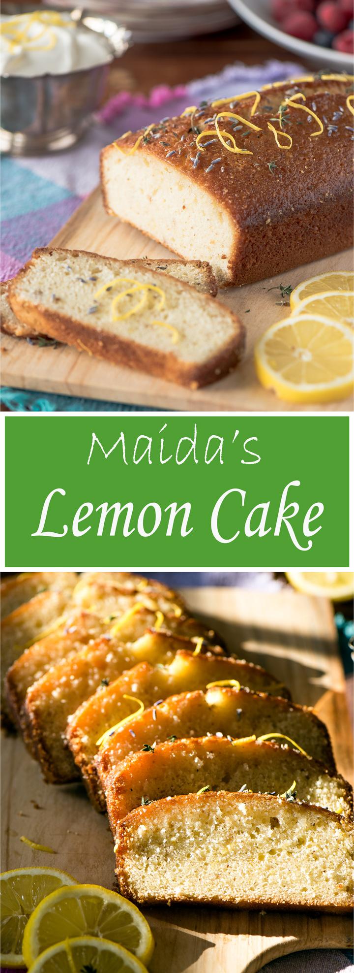 Maida Heatter S Lemon Cake