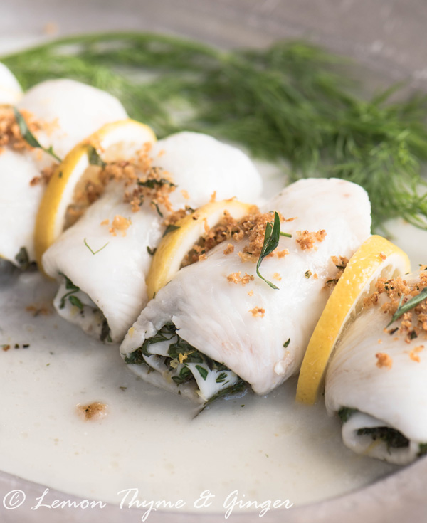 Earth Day Friendly Recipe, Oven Baked Sole with herbs