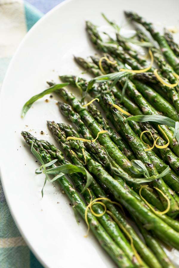 Early Spring Asparagus, a recipe.