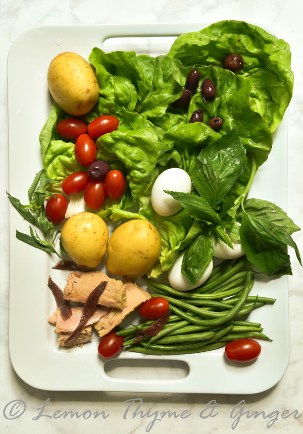 My Classic Nicoise Salad for Two with recipe.