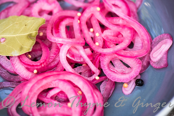 Small Batch Pickled Red Onions and recipe.