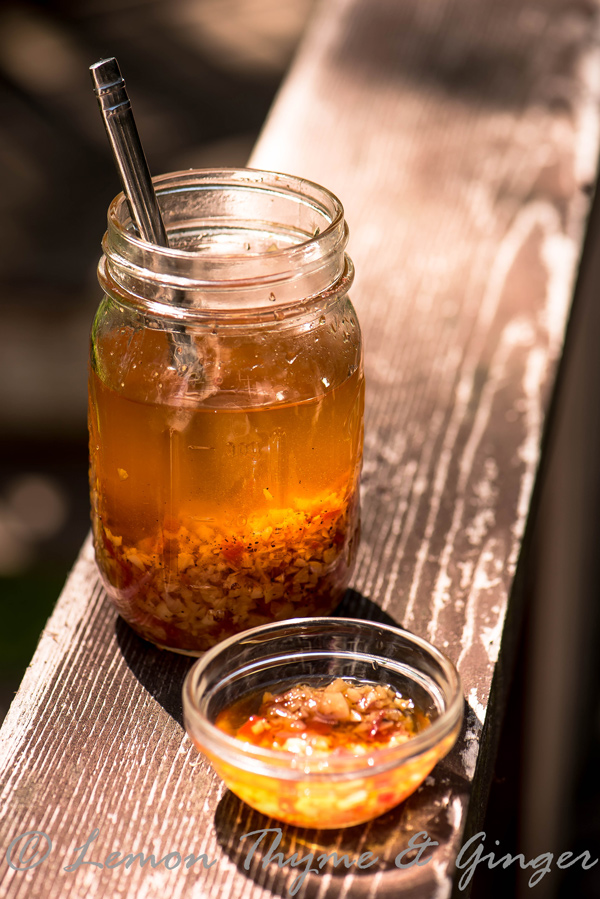 Liquid Gold: Mojo de Ajo recipe.