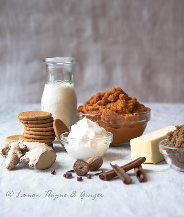 Pumpkin Pie with Gingersnap Cookie Crust recipe.